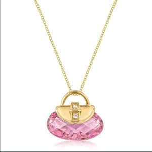 Jewelry - Golden Handbag Pendant